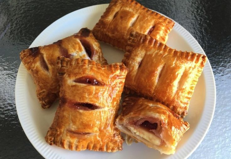 Make easy mini pies using puff pastry.