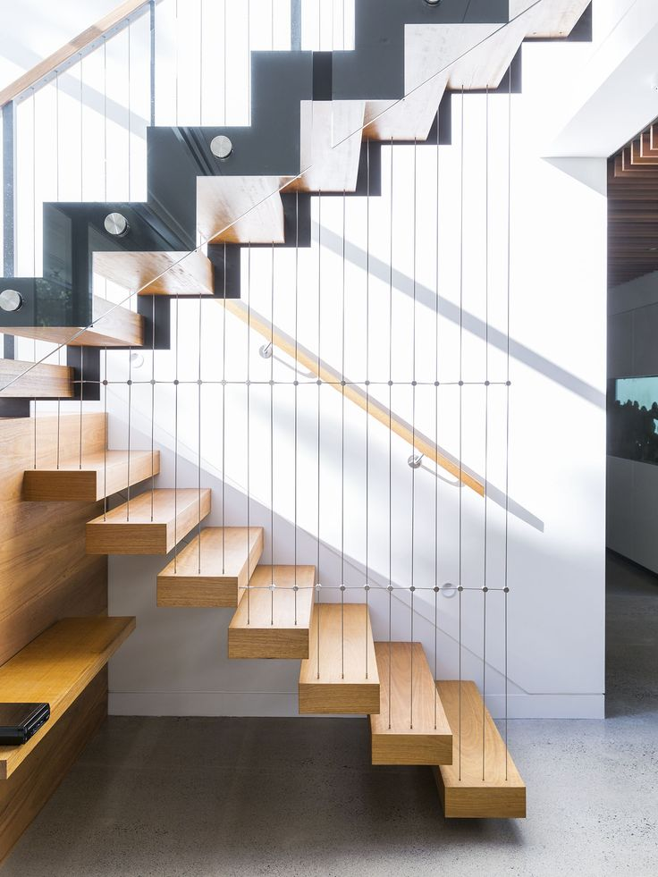 Feature Stair Floating Stair Cantilevered Steel