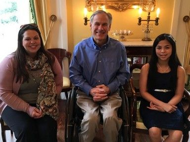 TX Gov. Abbott hosts student who refused to deny God is real - http://conservativeread.com/tx-gov-abbott-hosts-student-who-refused-to-deny-god-is-real/