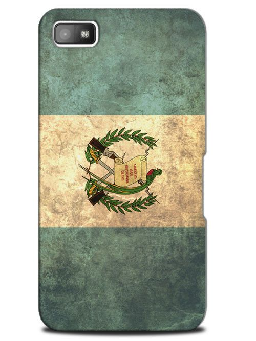 Guatemala Vintage Country Flag Case Cover Design for Blackberry