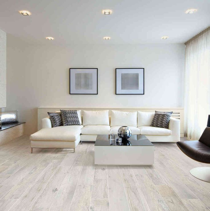 Carrelage imitation parquet Wood Memory White