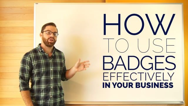 Business Technology Whiteboard, Episode 1. This episode explores the importance of badges in gamification as well as the best and worst implementations. Plus, find the right gamification platform that fits the needs of your work: http://techadv.co/RROkPr  Transcript: This video is about how to use badges effectively in your business, specifically to motivate your employees.  In the gamification community badges often get a bad wrap.  They're often used superficially along with points and…