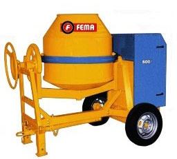 Hormigonera 2 ruedas 600litros | FEMA