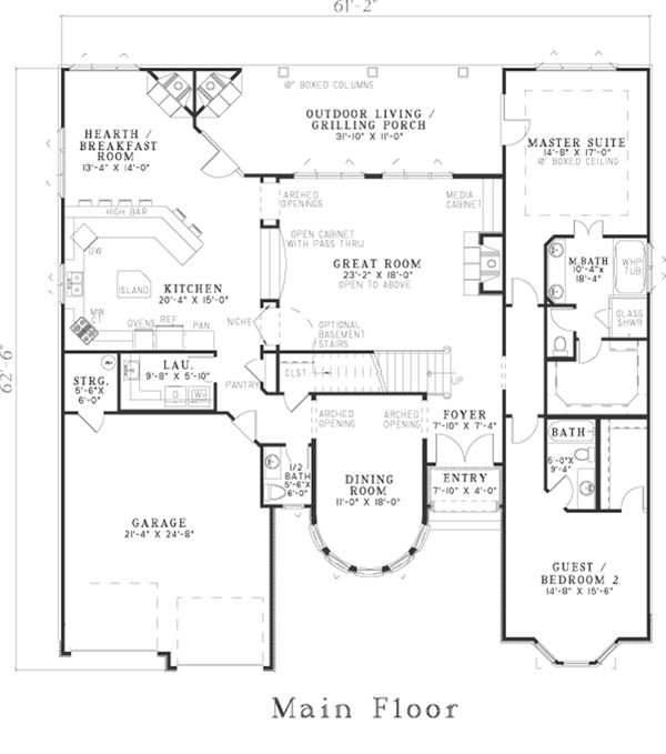 760 best H: House Plans images on Pinterest | Carriage house ...