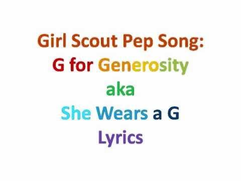 17 best images about girl scout songs on pinterest