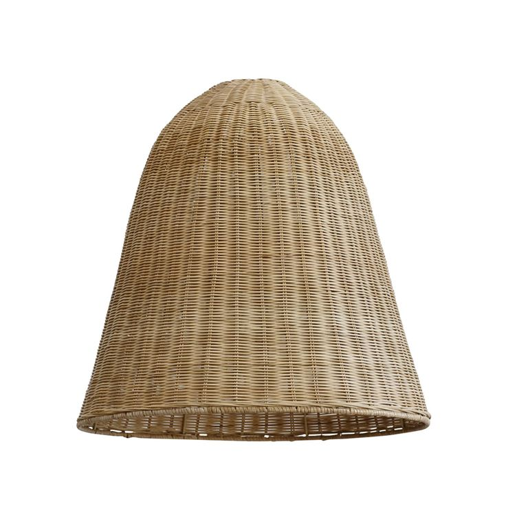 Let there be light! Get your glow with our spun rattan large light shades in a gorgeous semi gloss finish. These ceiling stunners are 60cm tall by 60cm in diameter. Shade Only, fits a standard sized 30mm bayonet holder.