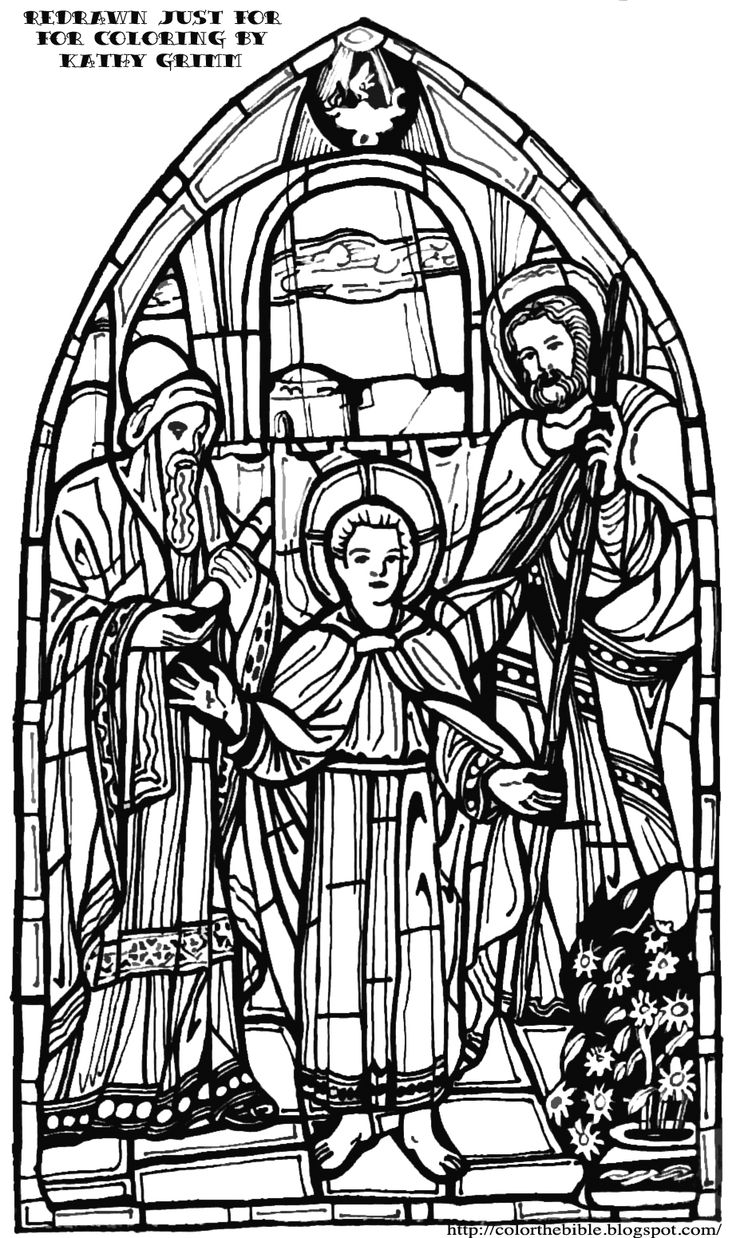 Free coloring page jesus in the temple - Color The Bible Jesus In The Temple