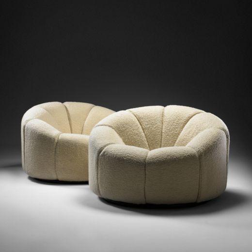 Pierre Paulin, Elysee Chairs, 1971.