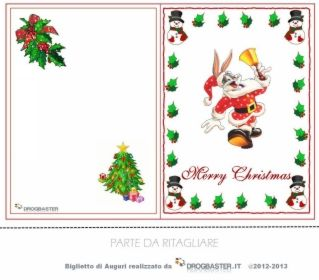 auguri natalizi da stampare