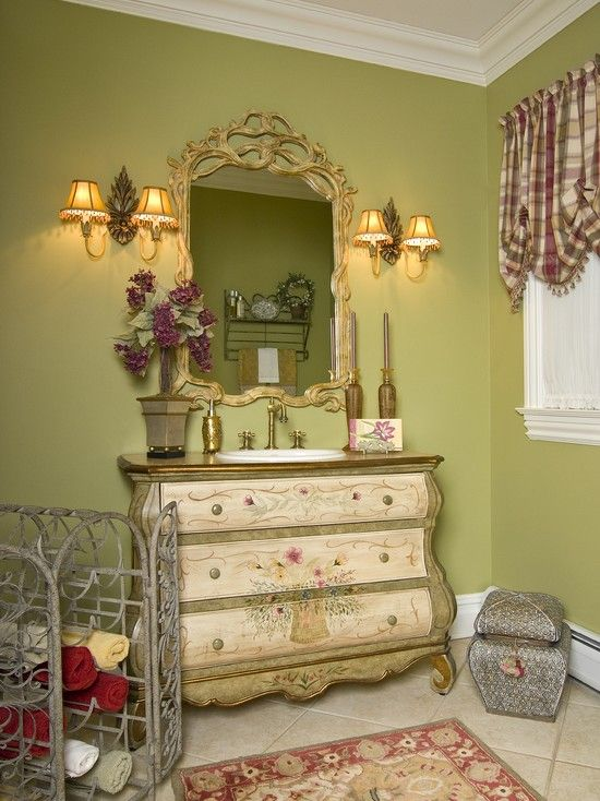 Bathroom Country Bathroom French Country Towels Racks Powder Rooms
