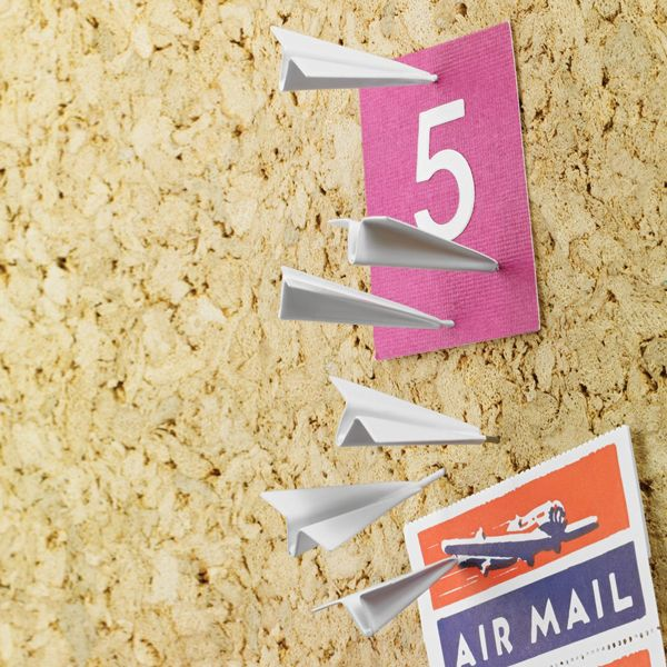Paper Airplane Push Pins, fly 'em high!: Office, Paper Plane, Idea, Gift, Squadron Pushpins, Paper Airplane, Products, Airplane Pushpins