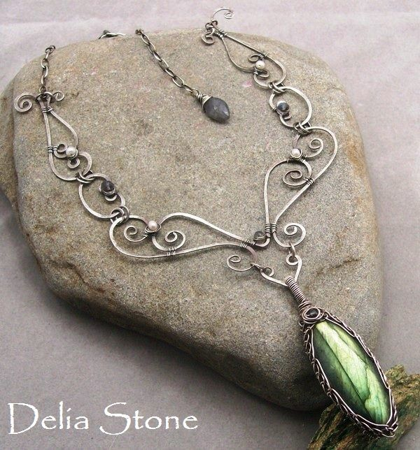 Unique handcrafted artisan jewelry by award winning artist, Delia Stone. If you re interstested in taking jewelry lessons check out the jewelry tutorials here and lean to make your own jewelry.