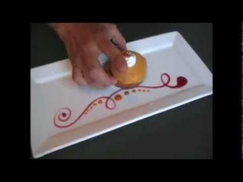Cuillères plumes Spoon drop - Daudignac - Décoration assiettes