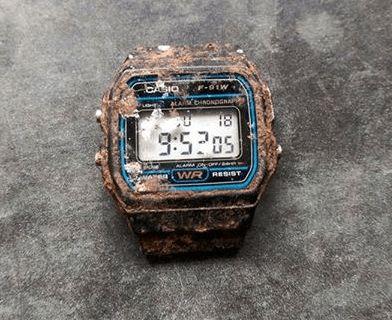 20 ans plus tard, il déterre la montre #Casio de son enfance
