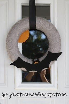 fall halloween wreath