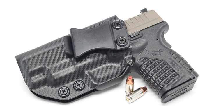 """Springfield XD-S 4.0"""" IWB KYDEX HolsterLoading that magazine is a pain! Get your Magazine speedloader today! http://www.amazon.com/shops/raeind"""