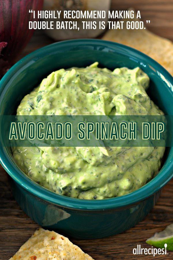 Avocado-Spinach Dip