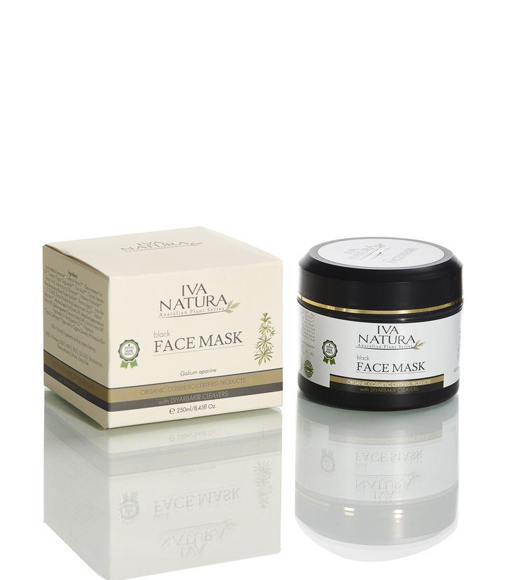 Iva Natura Organic Certified Black Mask