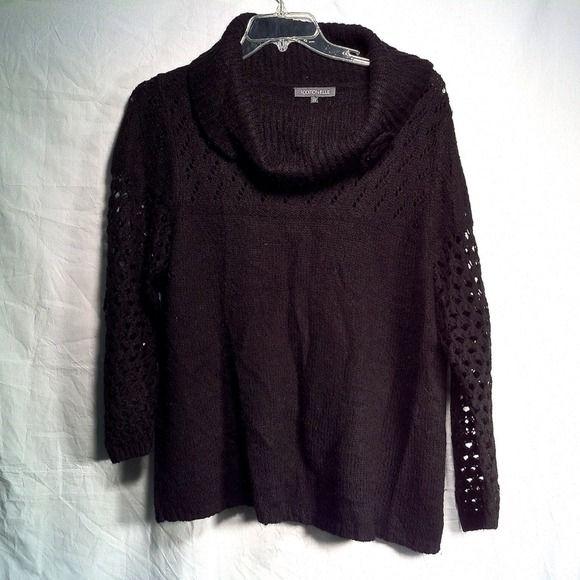 Addition Elle Sweater ⬇ PRICE DROP! ⬇ Black Addition Elle Sweater Addition Elle Sweaters