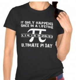 Ultimate Pi Day - 2015, once in a lifetime day notation digits form Pi : March 14, 2015 at 9:26:53  or, 3.141592653