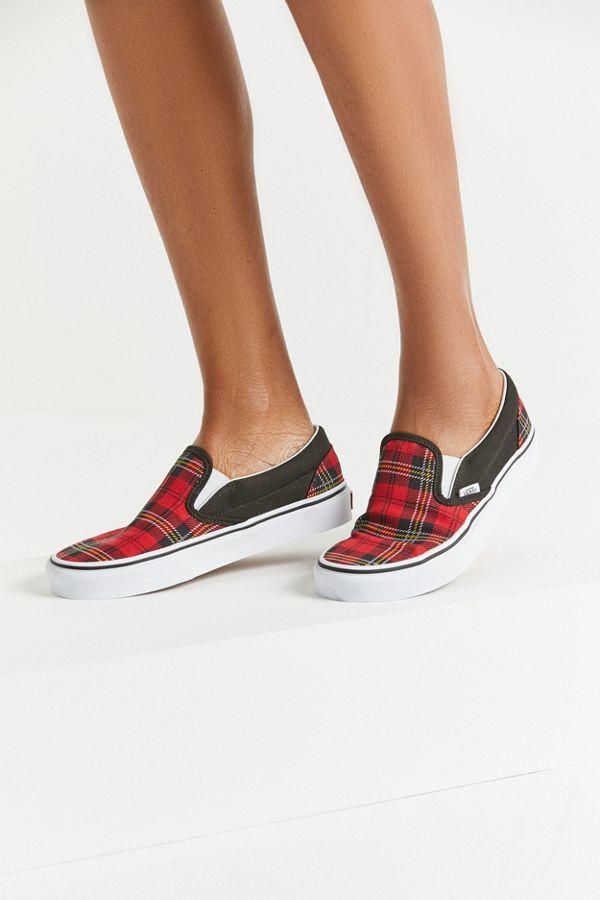 Vans Tartan Slip-On Sneaker | Slip on