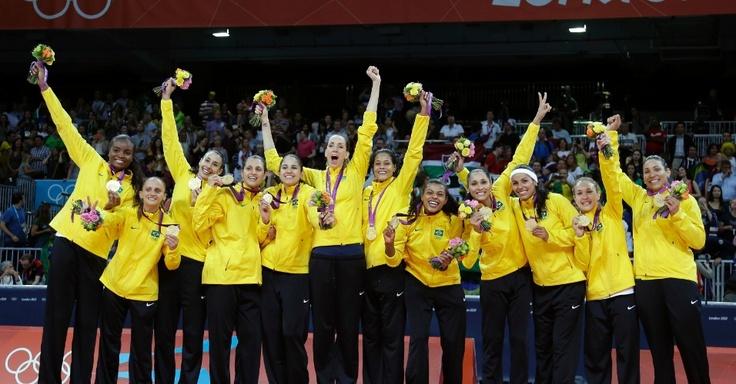 Seleção Feminina de Voleibol - BRASIL