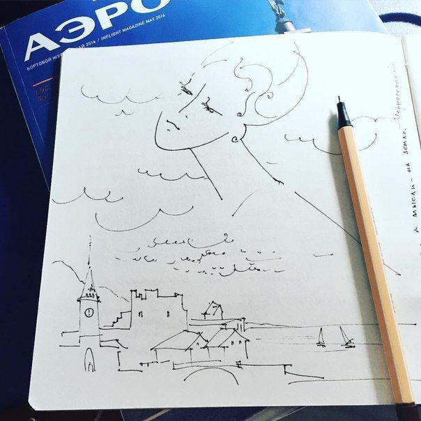 Марина Трушникова | ВКонтакте Полет. Когда голова реально в облаках...