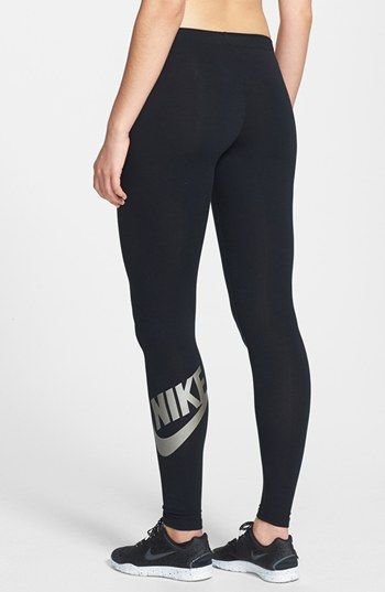 Nike 'Leg-A-See' Leggings available at #Nordstrom Bought These I love them