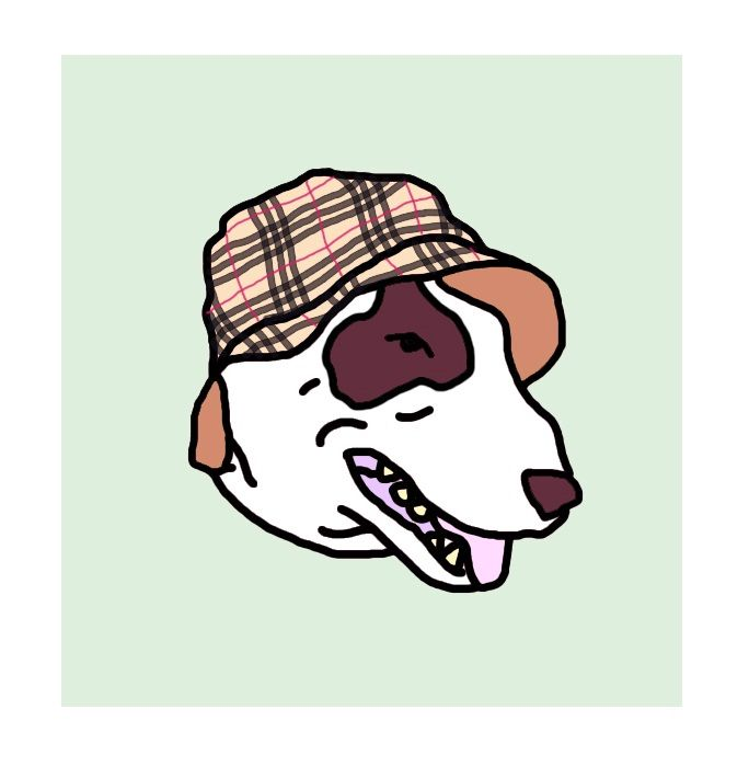 Low art Джунов Егор / Djunov Egor bull terrier burberry casual style hooligan
