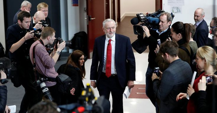 #MONSTASQUADD Jeremy Corbyn, Backing a 'Soft' Brexit, Takes Aim at Conservatives