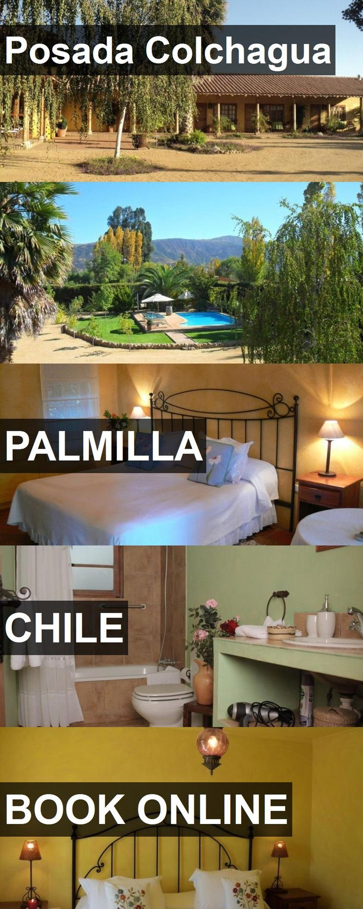 Hotel Posada Colchagua in Palmilla, Chile. For more information, photos, reviews and best prices please follow the link. #Chile #Palmilla #travel #vacation #hotel