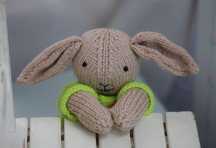 Joe Jumper the knitted bunny, £23.00