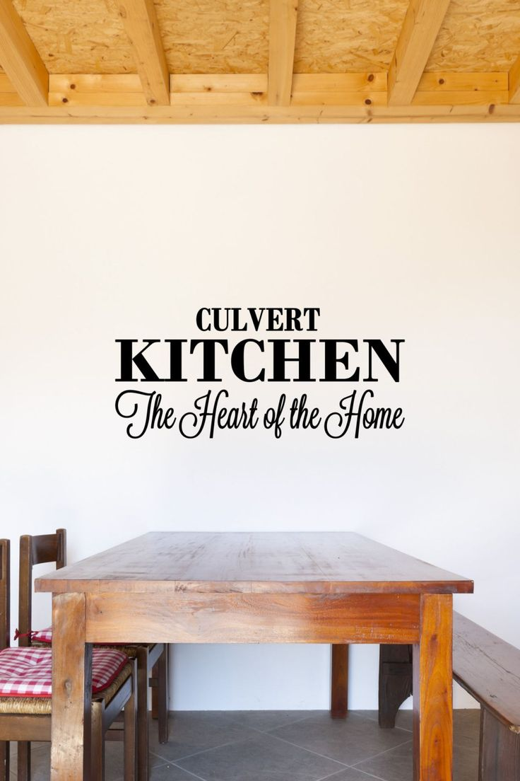Best Kitchen Vinyl Decal Decor By The Vinyl Company Images On - Custom vinyl decals for wood