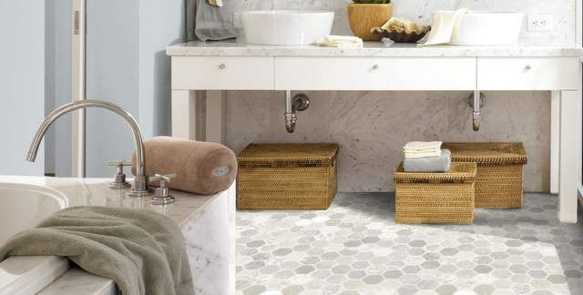 Bathroom Vinyl Flooring Ideas Nz : Picking out a new bathroom floor my makeover dreams come