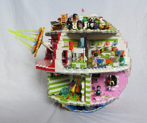 lego friends death star that s no play date lego pinterest lego friends death star and lego. Black Bedroom Furniture Sets. Home Design Ideas