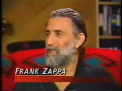 I met Frank Zappa when I was at Michigan State.  He really was a nice guy, more than willing to answer what were probably the same questions he got at every interview.  He did not take himself seriously, that's obvious from the interview.  He took humor and entertaining through music seriously and he put on a heck of a show.  He always managed to surround himself with some of the best musicians around.  Heck of a guitar player, too.