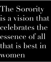 Something I found special because I want to join a sorority and be the best women I can be