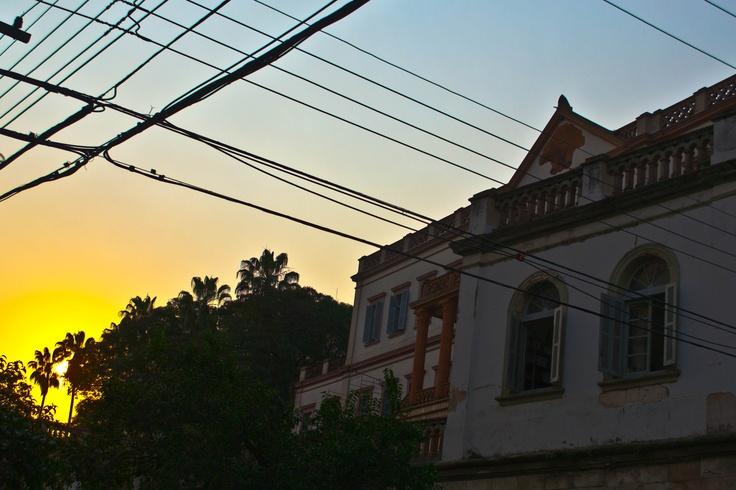 Sunset @ Curia Metropolitana de Porto Alegre