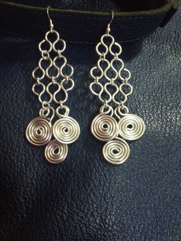 Aluminum and sterling silver