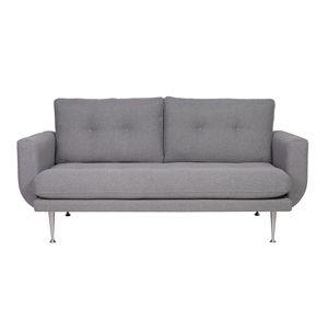 Canapé en tissu déhoussable 3 ou 4 places Boston Gris clair