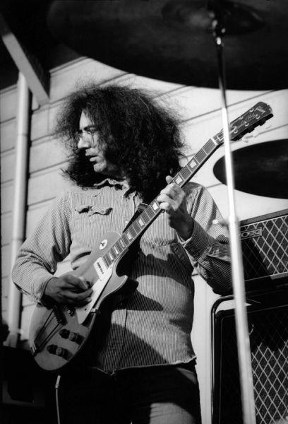 Jerry Garcia of The Grateful Dead - Baron Wolman