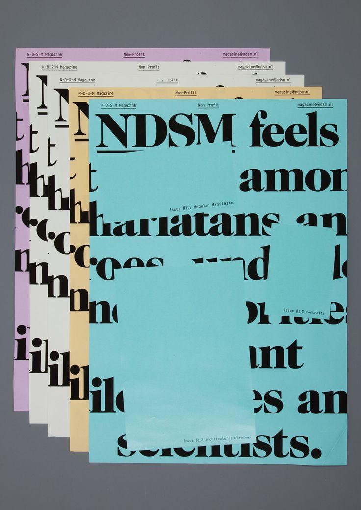 NDSM Magazine — Our Polite Society