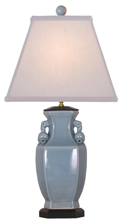 Ice Blue Porcelain Vase Table Lamp | LampsPlus.com