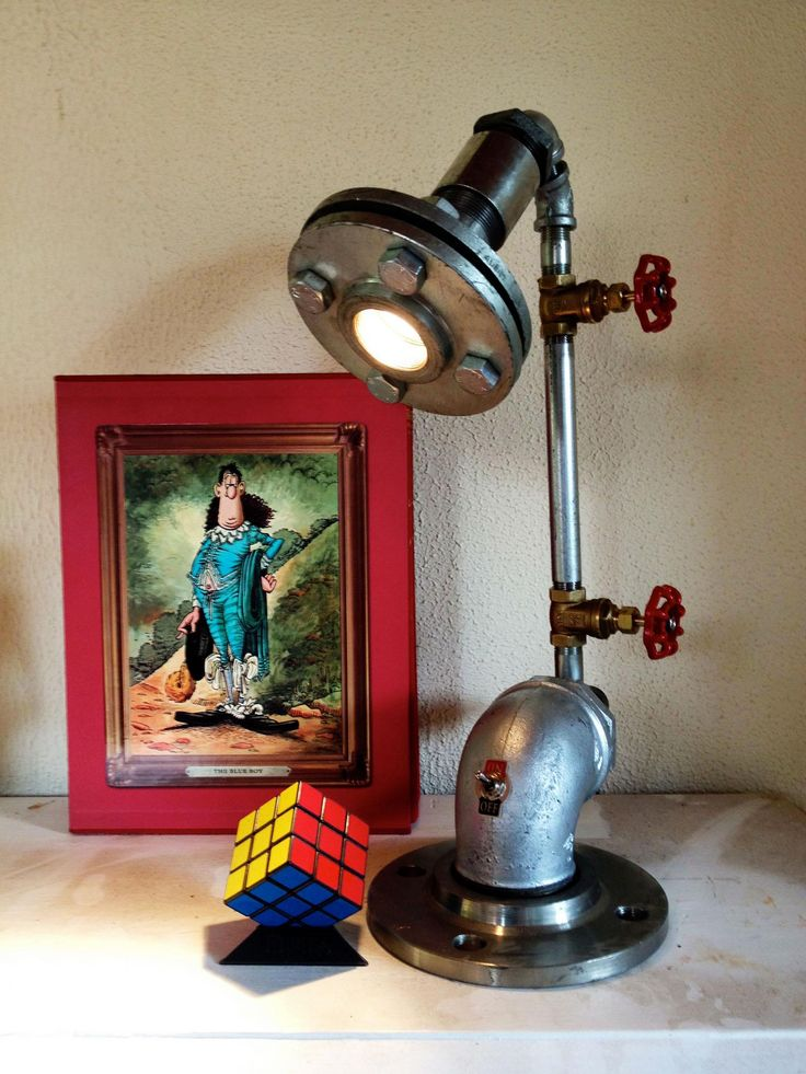 cool, industrial and chic - pipe lamps from Pipe Dreams in S. Africa