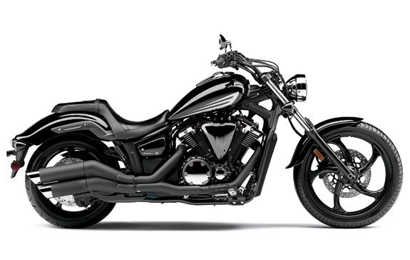 Yamaha Stryker - Love the black exhaust!
