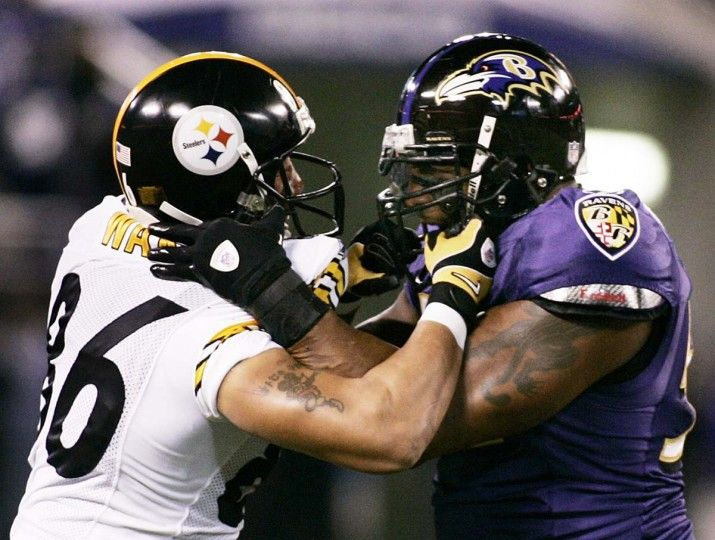 Image result for steelers ravens clashing