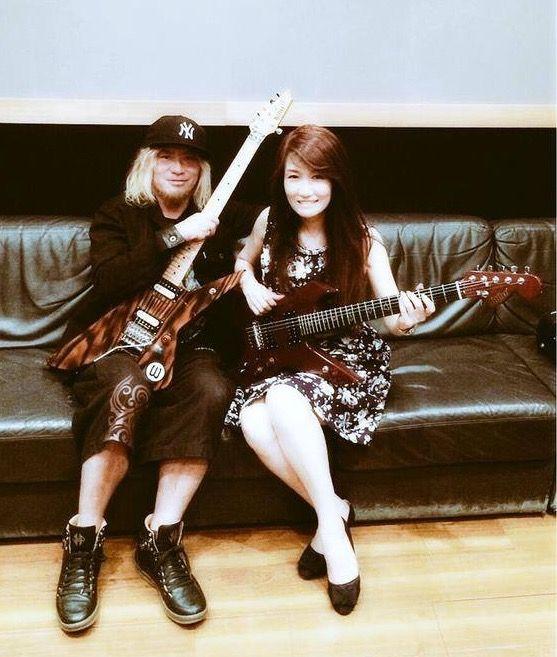 Akira Takasaki & Mari Hamada. 2015