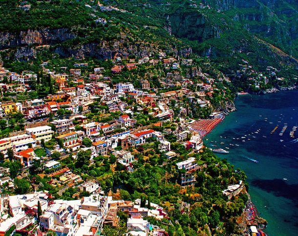 Positano, Italy   AKA heaven on earth