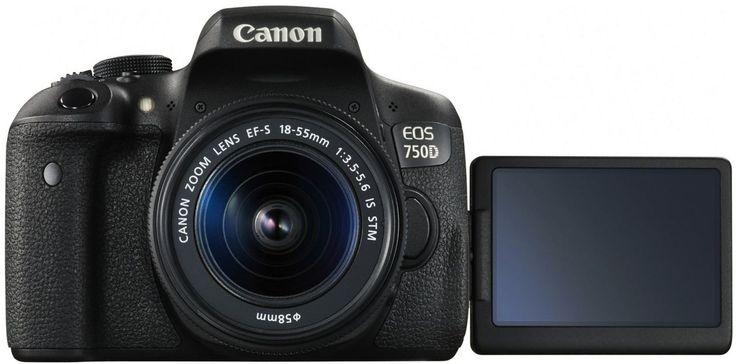 Early Christmas present from Kiia 12/6/16 Canon EOS 750 D