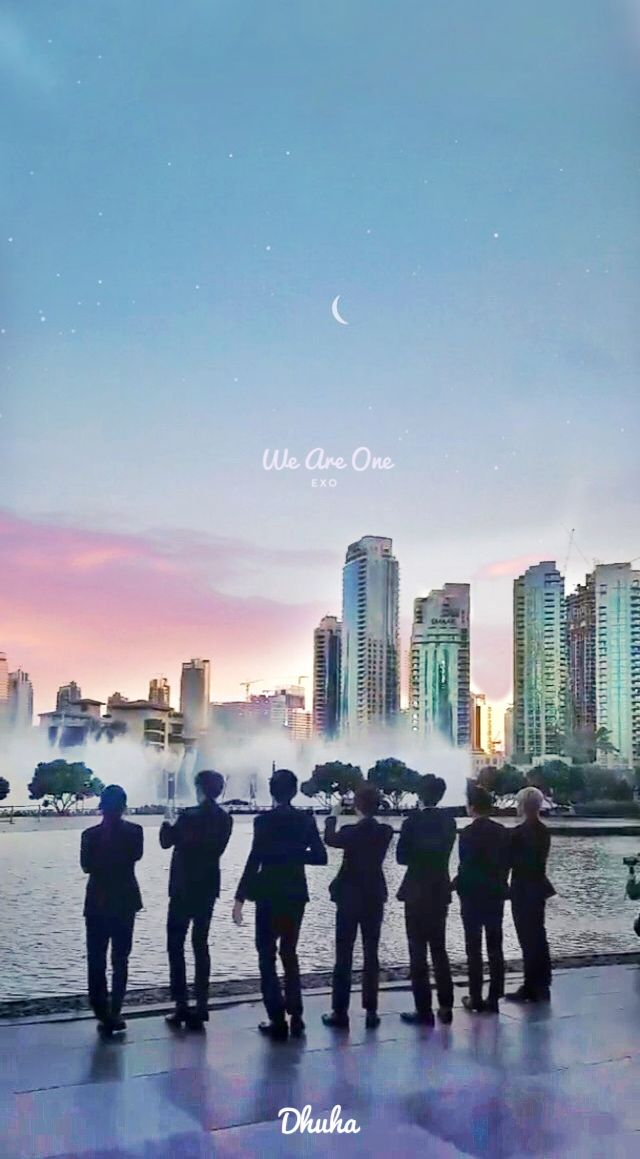 EXO Wallpaper LockScreen #EXODubaiPower